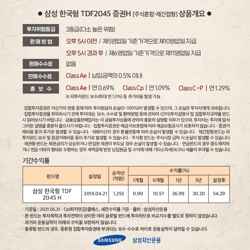 {focus_keyword} [실쩐투자기] 삼성한국형 TDF 2045 매월 30만원씩 투자하기  ant_7p ant 7p