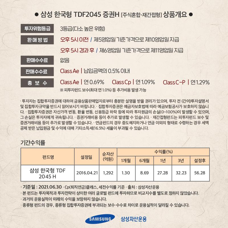 {focus_keyword} [실쩐투자기] 삼성한국형 TDF 2045 매월 30만원씩 투자하기  ant_6p ant 6p