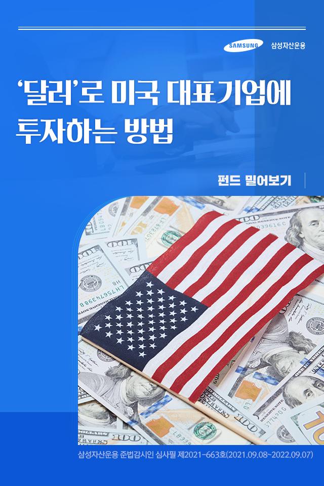 '달러'로 미국 대표기업에 투자하는 방법 '달러'로 미국 대표기업에 투자하는 방법  펀드밀어보기_표지-7                           7