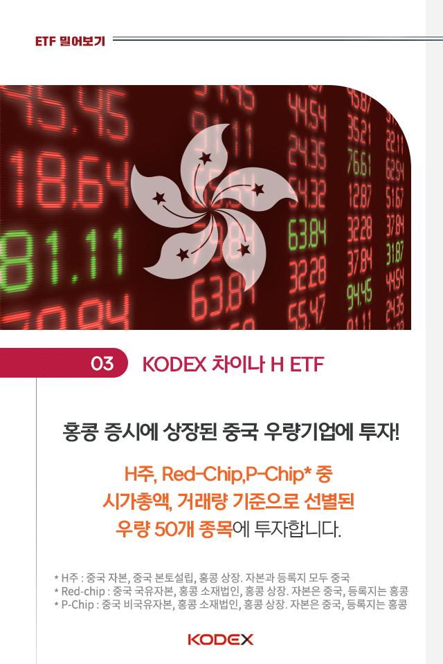 중국 투자? kodex 차이나 etf 시리즈로 손쉽게 시작하자! 중국 투자? KODEX 차이나 ETF 시리즈로 손쉽게 시작하자!  5p 5p