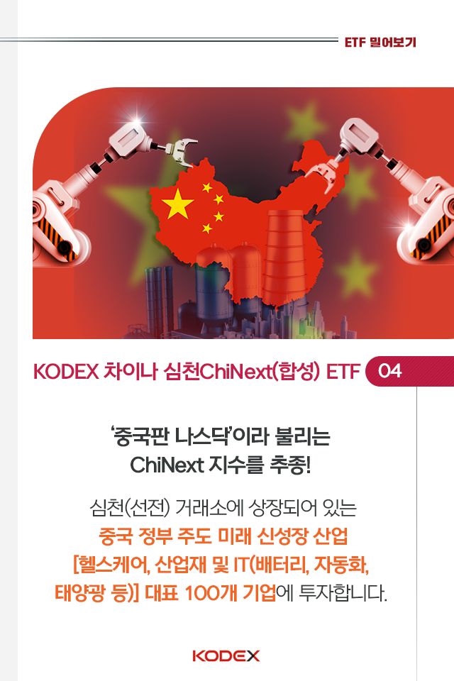 중국 투자? kodex 차이나 etf 시리즈로 손쉽게 시작하자! 중국 투자? KODEX 차이나 ETF 시리즈로 손쉽게 시작하자!  6p 6p