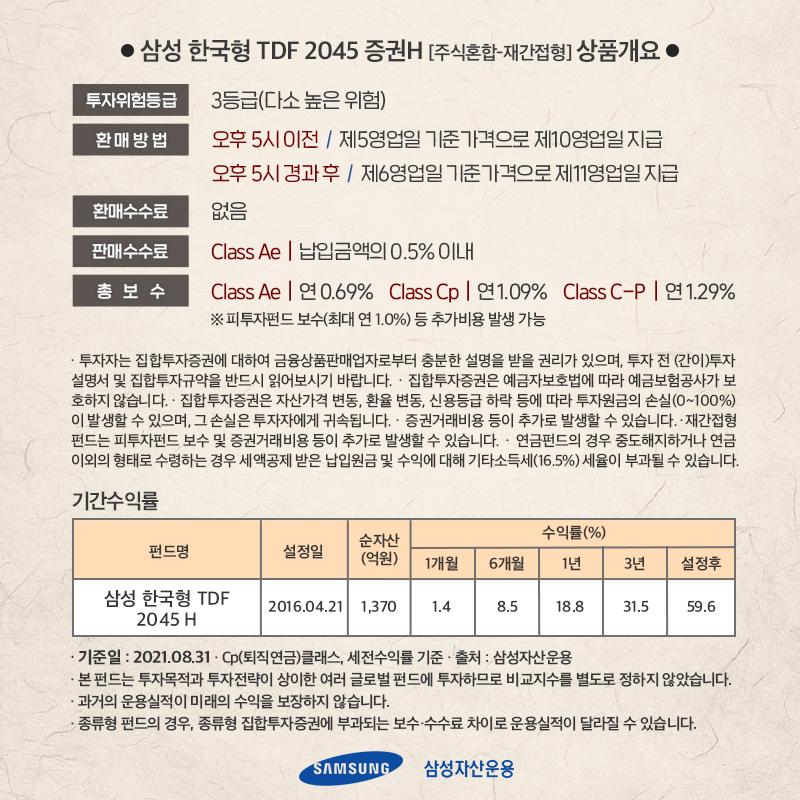 {focus_keyword} [실쩐투자기] 삼성한국형 TDF 2045 매월 30만원씩 투자하기  ant_내지_7p ant        7p